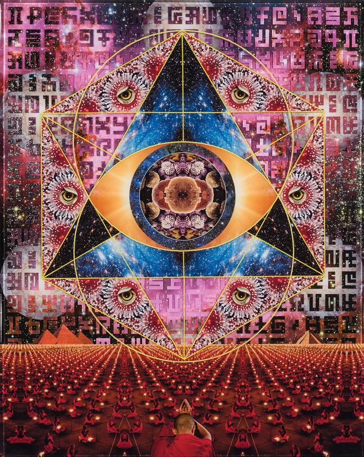Sebatian Wahl - psychedelic collage   Art Blog