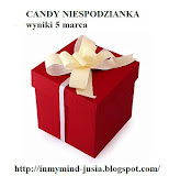 Moje wygrane Candy u Justyny