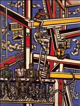 fernand LEGER. LOS CONSTRUCTORES. 1950.