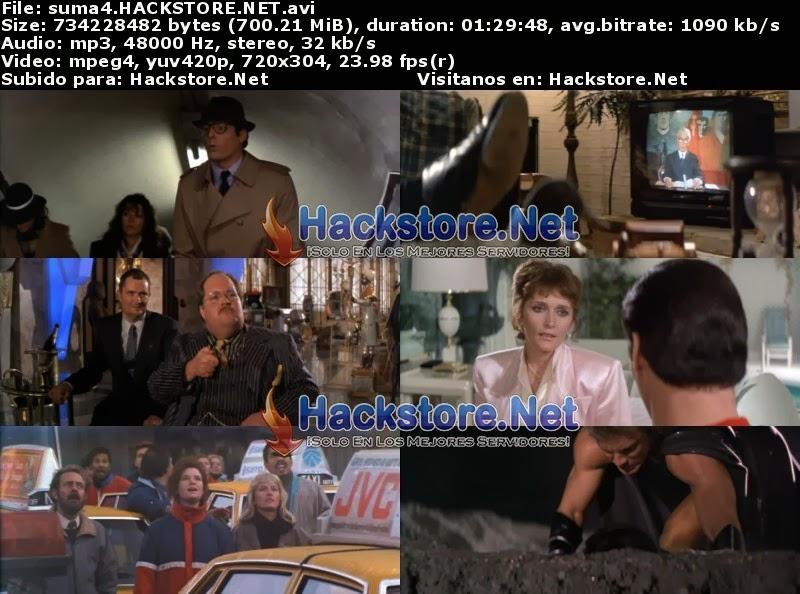 Captura Superman 4 - En Busca de la Paz (1987) DVDRip Latino