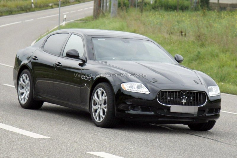 2013 Maserati Quattroporte tests updated
