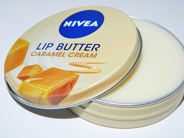 Nivea Lip Butter Caramel Cream review