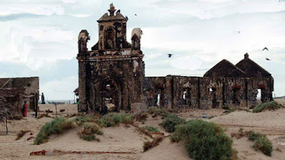 Ruins of Dhanushkodi town