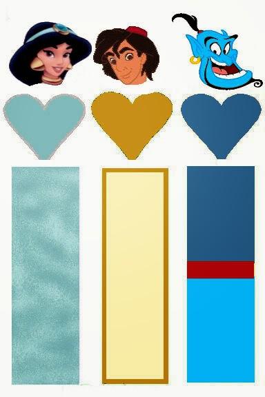 Aladino: Envoltorios Especiales para Golosinas, para Imprimir Gratis.