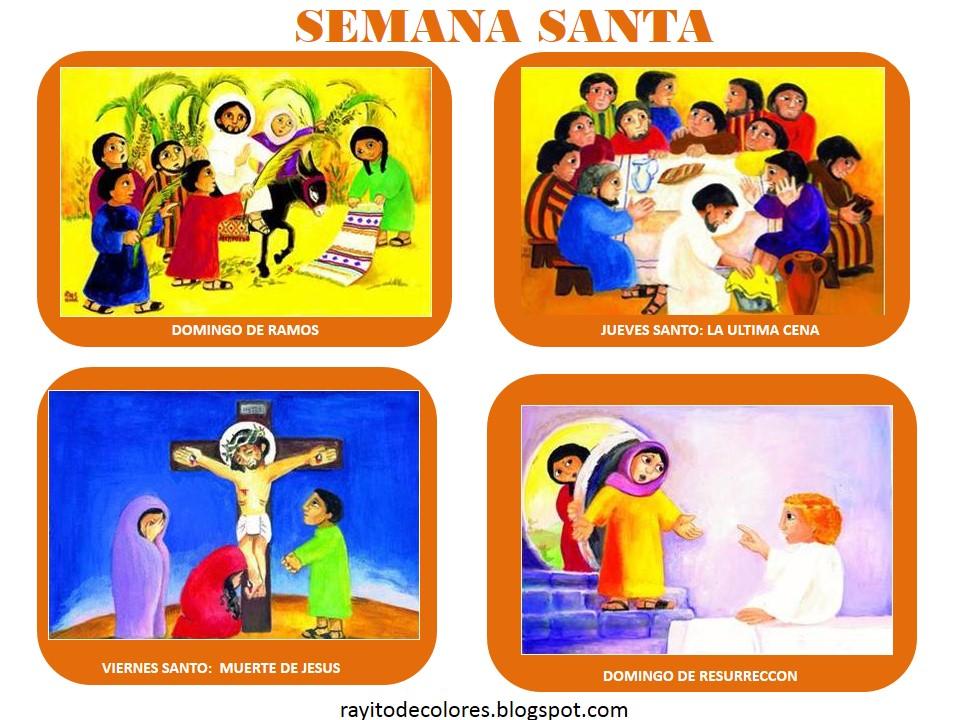 Semana Santa imágenes para niños
