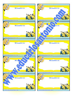 gafetes%2Bminions