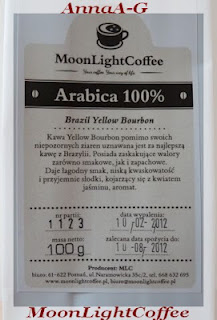 MoonLightCoffee Brazil Yellow Bourbon- Arabica 100%