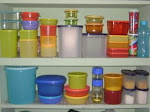 Organize Kitchen with Tupperware Products