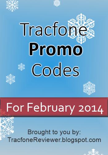 tracfone promo code february 2014