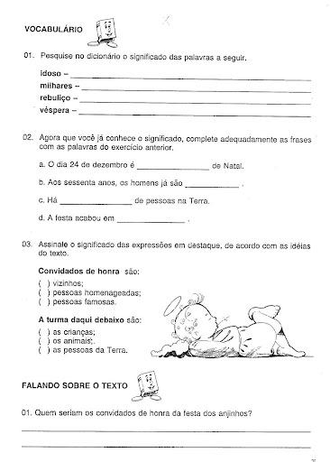 Portugues 4   Ano Exercicios Atividades Para Imprimir  49