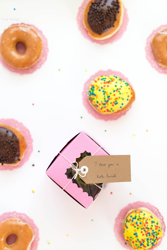 donut, packaging, gift package ideas, birthday