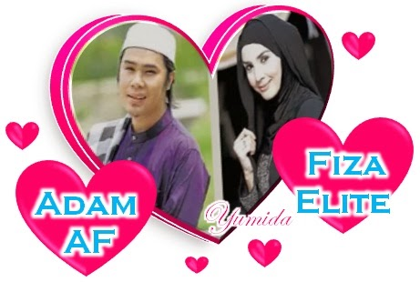 Adam AF dan Fiza Elite bakal nikah Khamis ini, Adam, Fiza rancang nikah khamis ini, Adam AF & Fiza Elite Rancang Bernikah Khamis Ini, Adam AF dan Fiza Elite akan kahwin pada Khamis 26 September 2013