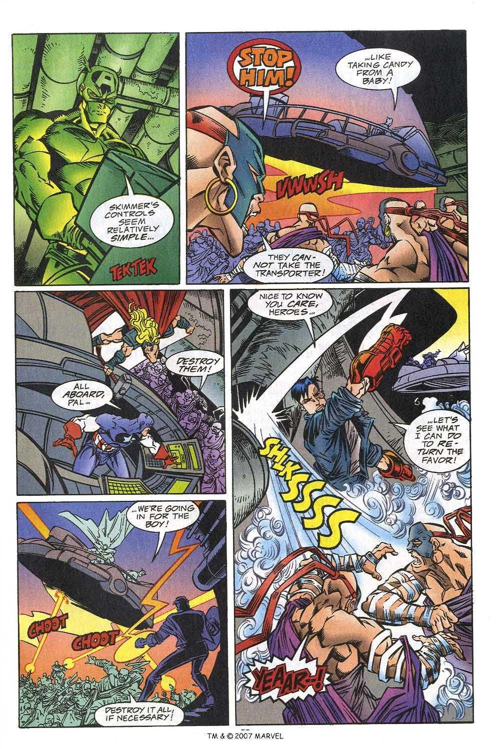 Captain America (1968) Issue #449c #405 - English 25