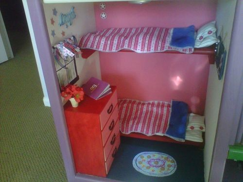 caught my fancy an american girl doll bedroom