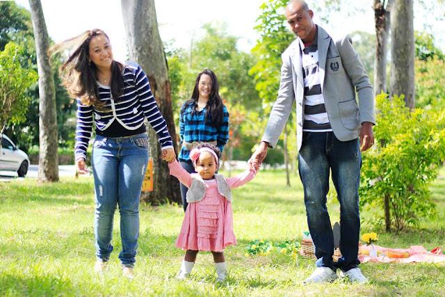Ensaio fotográfico família pic nic