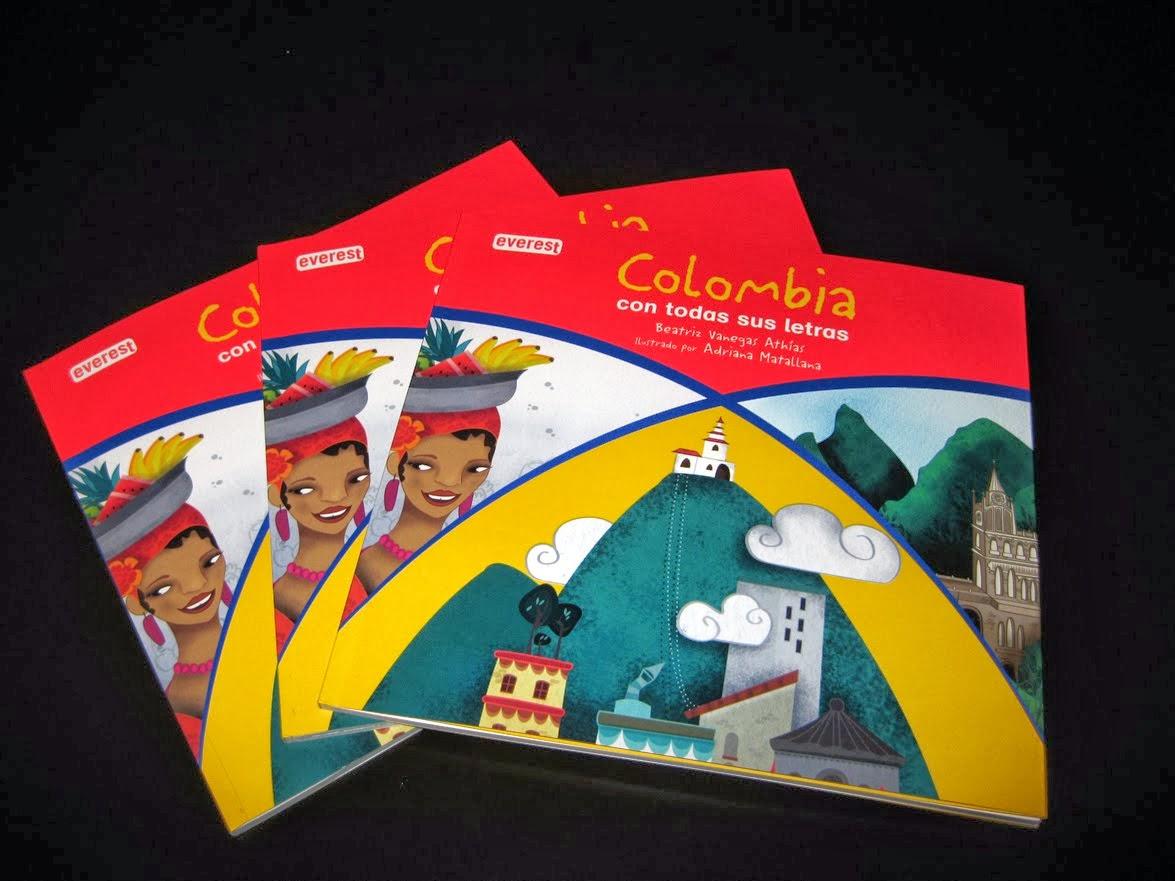 ::::::: Libro COLOMBIA con todas sus letras :::::::
