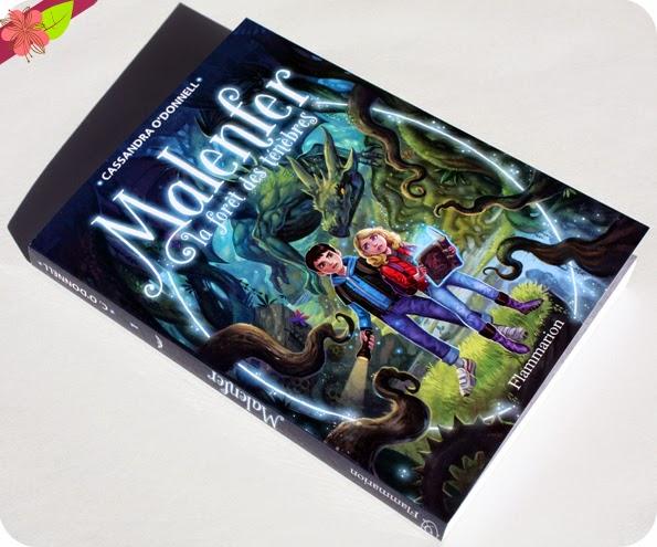 Malenfer la forêt des ténèbres de Cassandra O'donnell, Illustrations de Jérémie Fleury - éditions Flammarion