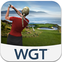 WGT Golf Mobile App iTunes App Icon Logo By WGT - FreeApps.ws