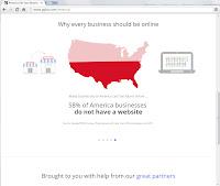 Screenshot Google Get yout business online