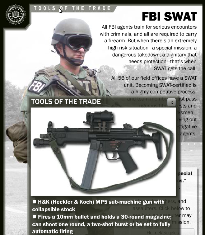 FBI SWAT gun