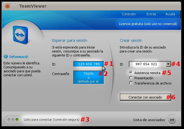 Momen tico conexi n remota con team viewer - Puerto de conexion remota ...