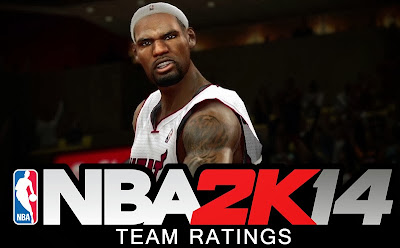 NBA 2K14 Team Ratings