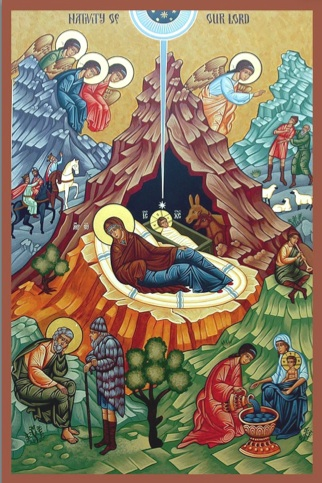 Orthodox Way Of Life The Incarnation Nativity Icon