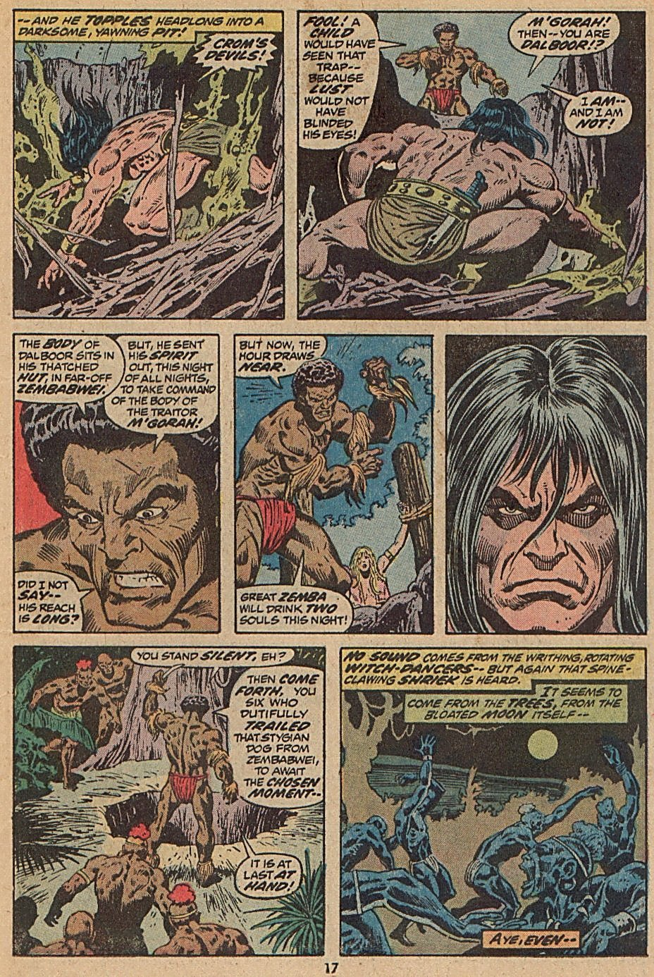 Conan the Barbarian (1970) Issue #28 #40 - English 13