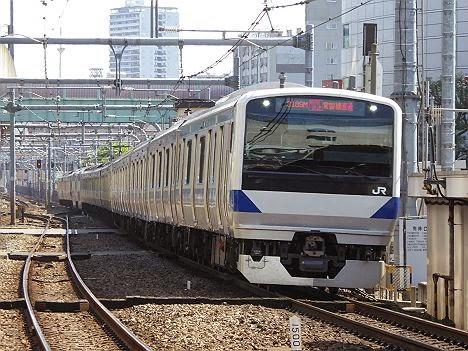 品川行きのE231系