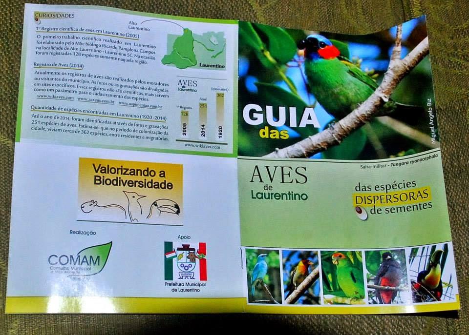 Aves dispersoras de Laurentino.
