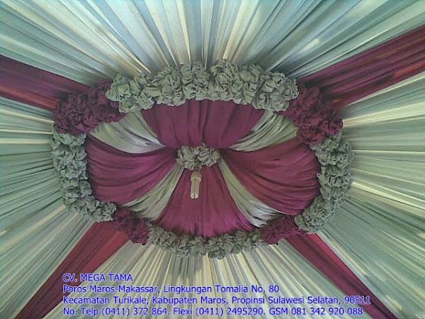 Plafond Kerucut Silver Pink