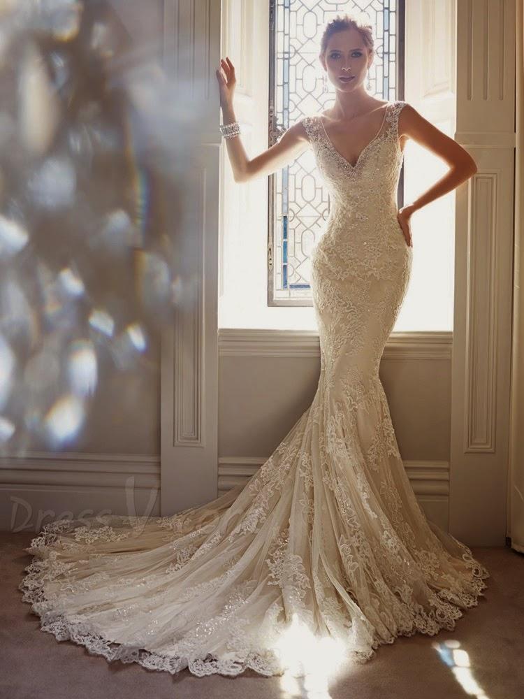Famous Trend : Mermaid Wedding Dresses