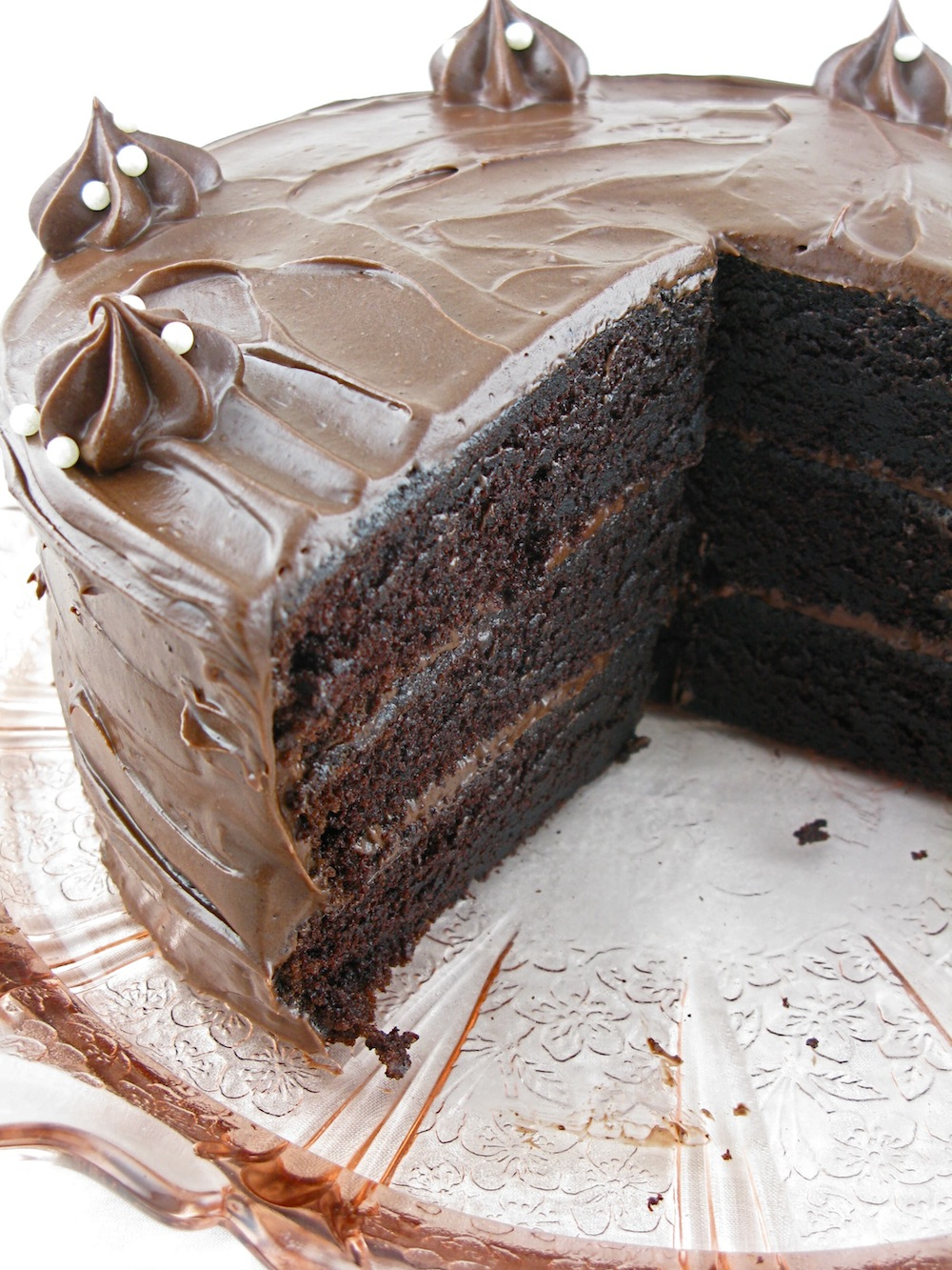 two layer cake or an 7 inch three layer cake