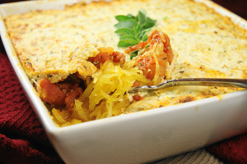 The Kitchen is My Playground: Baked Spaghetti Squash Gratin