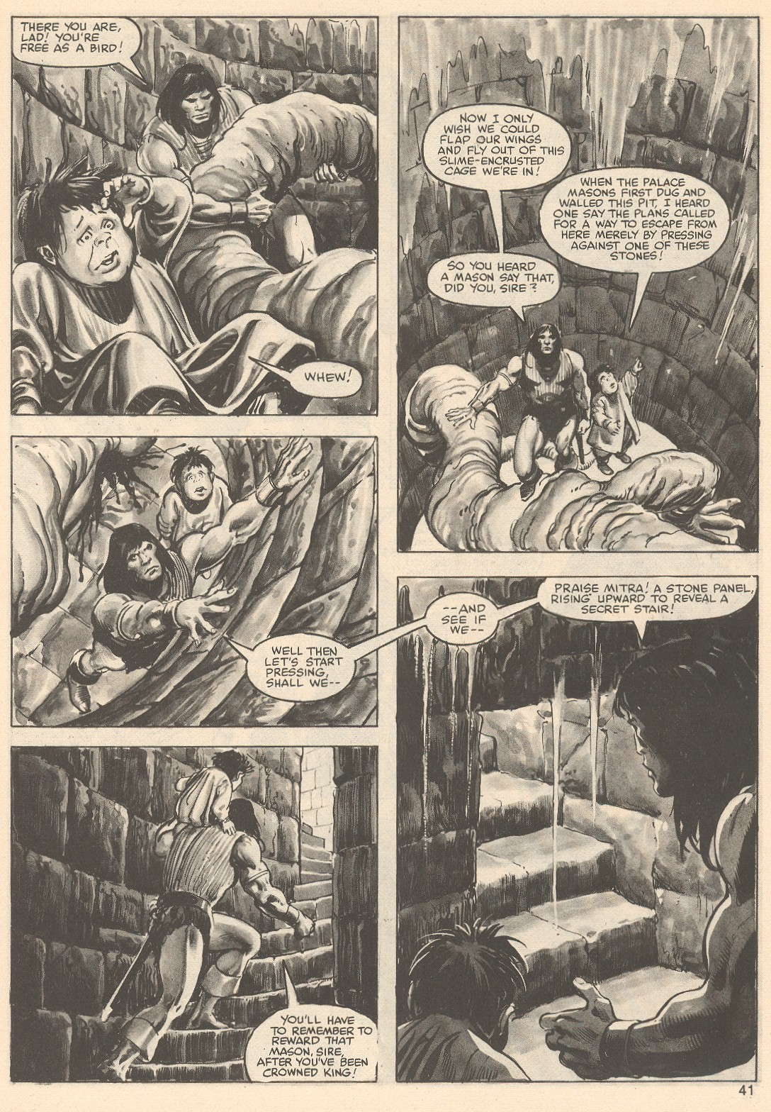 The Savage Sword Of Conan Issue #76 #77 - English 41