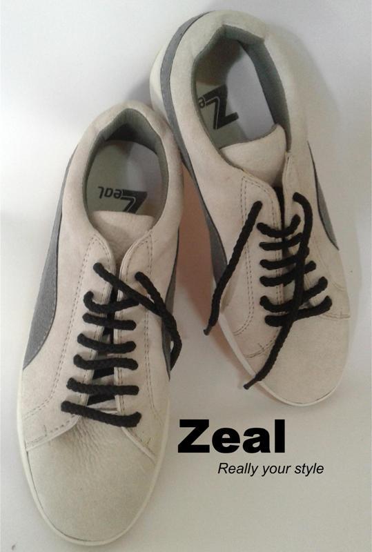 Zeal sepatu olahraga dari kulit domba