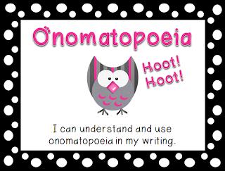 I Love 2 Teach: Onomatopoeia Lesson & Activity {Freebie}