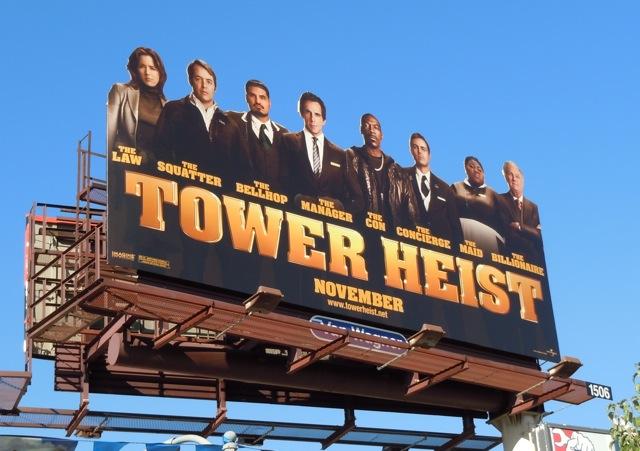 Tower Heist billboard