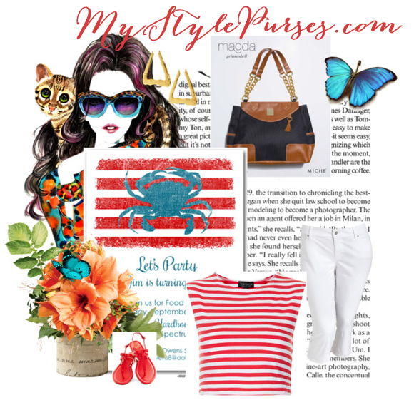 Lifestyle: Miche Magda Prima Shell Goes Nautical