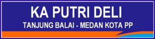Jadwal dan Harga Tiket Kereta Api Putri Deli Medan - Tanjung Balai