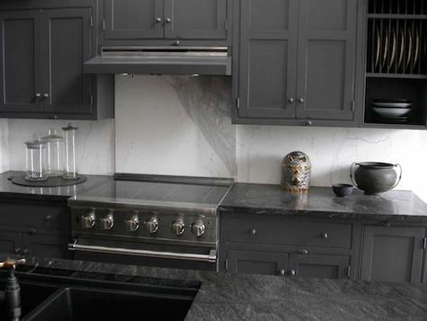 Craft Warm Gray - Warm gray cabinets