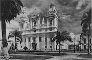 Vista da Catedral de Belém, não conseguimos identificar o ano. (fotos antigas de belã©m catedral)