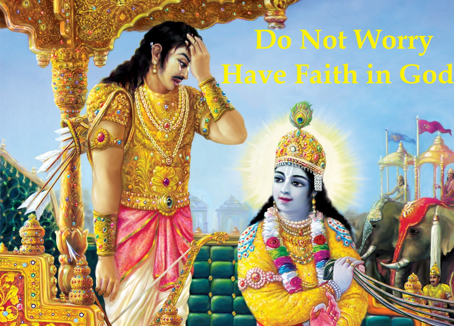 Lord Krishna Quotes Bhagwat Gita Blog  Do Not Worry Have Faith In Lord Krishna