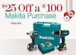 $25 Off Makita
