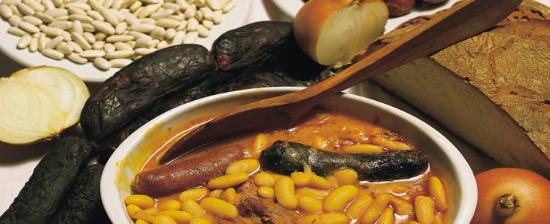 Africa for Asturian cuisine