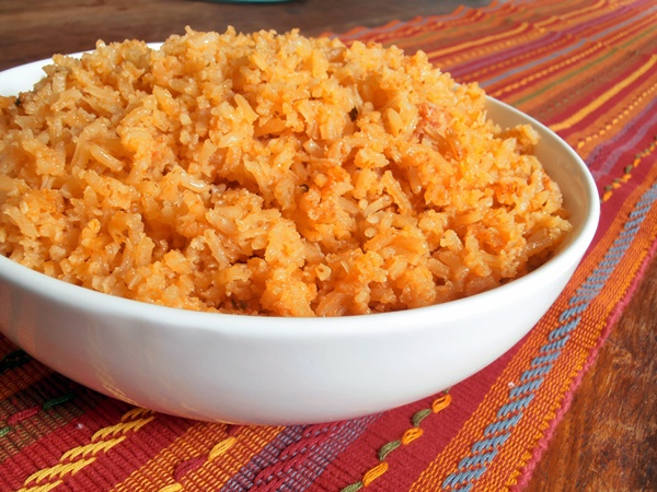 saffron rice bake spanish rice bake with brown rice recipes dishmaps ...