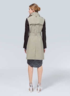 leather-sleeved trench, trench with leather sleeves, Mackage Avra, Aritzia