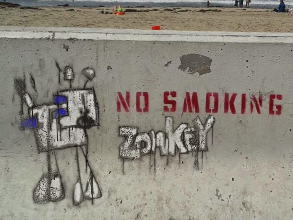 zonkey street art