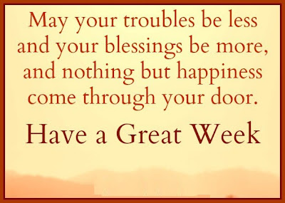 May your troubles be less and your blessings be more, and nothing but happiness come through your door.