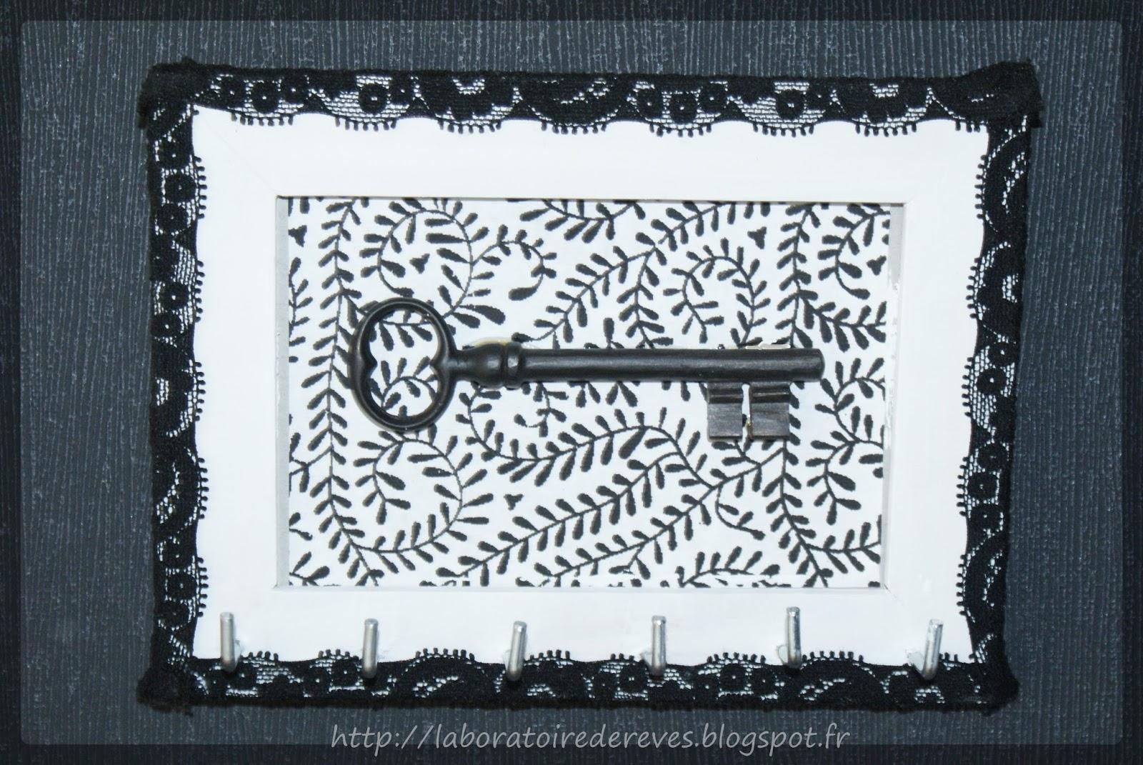 le laboratoire de r ves accroche cl s mural. Black Bedroom Furniture Sets. Home Design Ideas